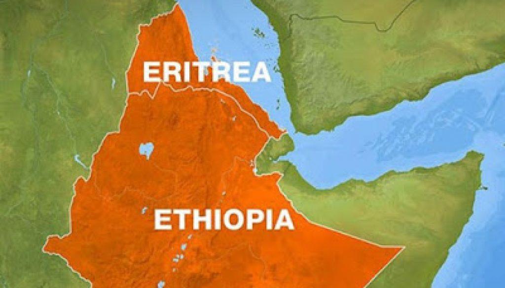 Eritrea-ethiopia-map