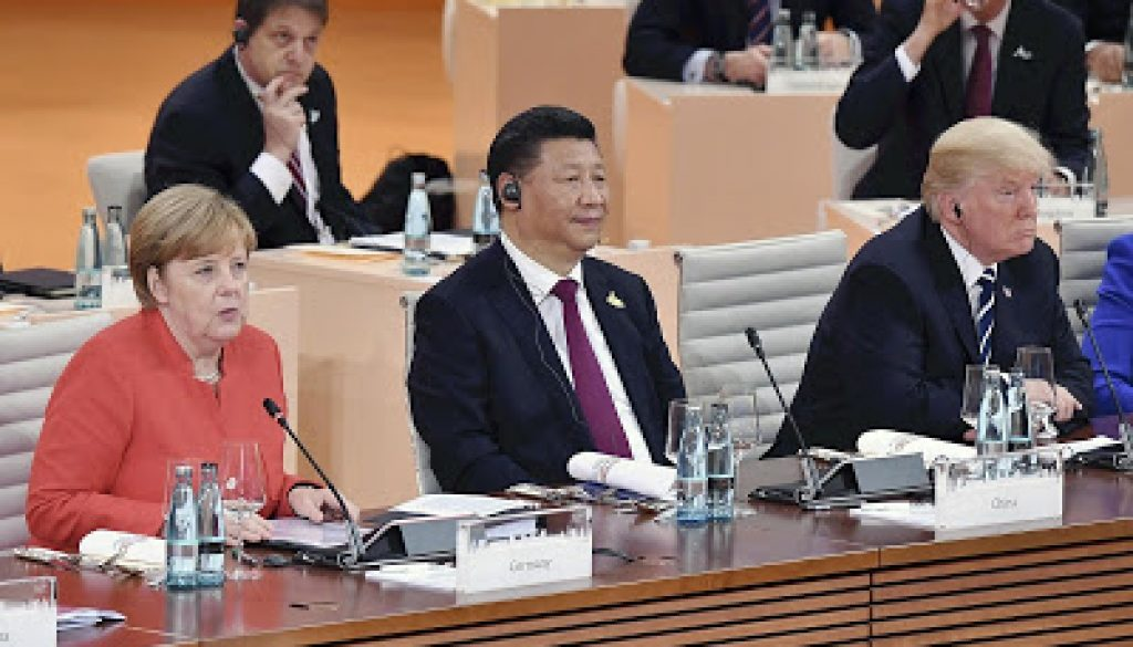 Trump-Xi-Merkel-Picture-Alliance