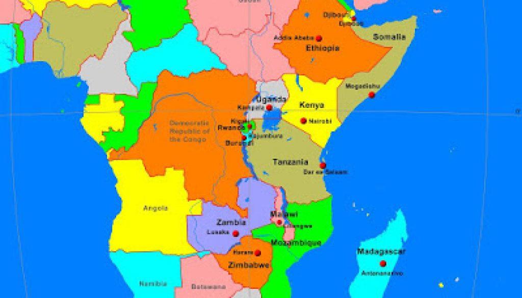 AfricaEastPolitical