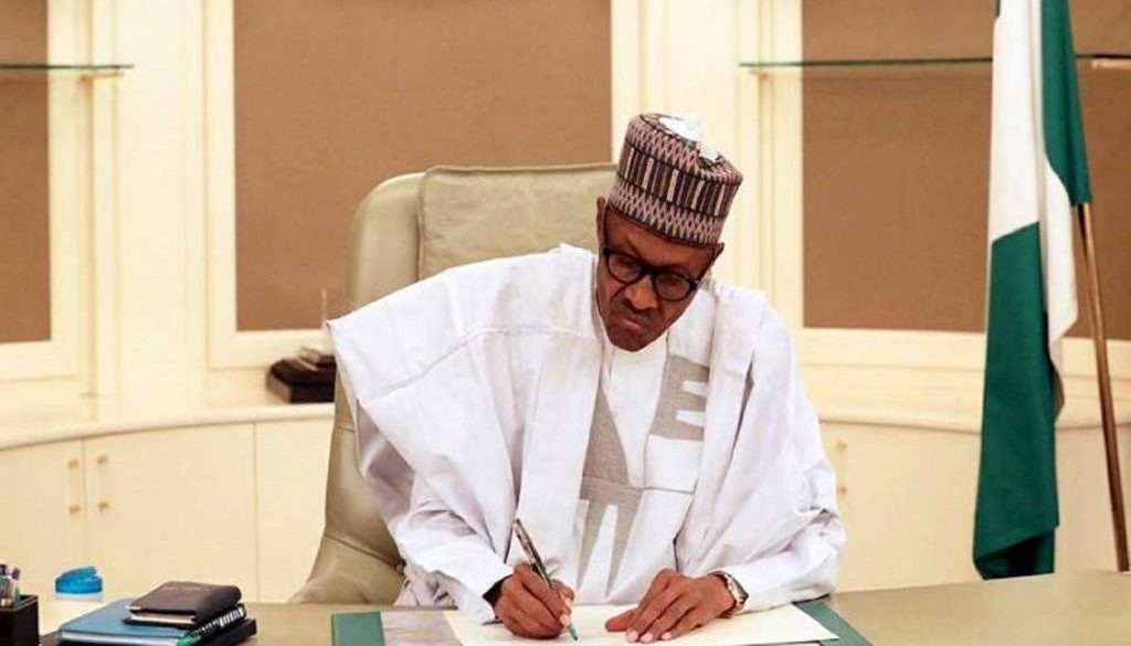 Buhari-signs-N9.1-trillion-Budget