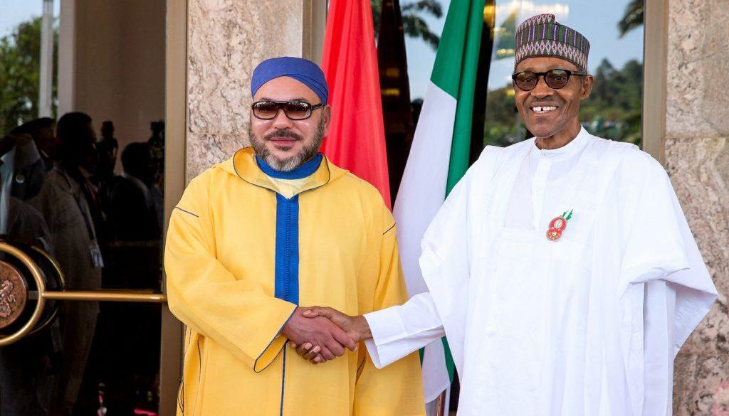 KIng-Mohammed-VI-and-President-Buhari