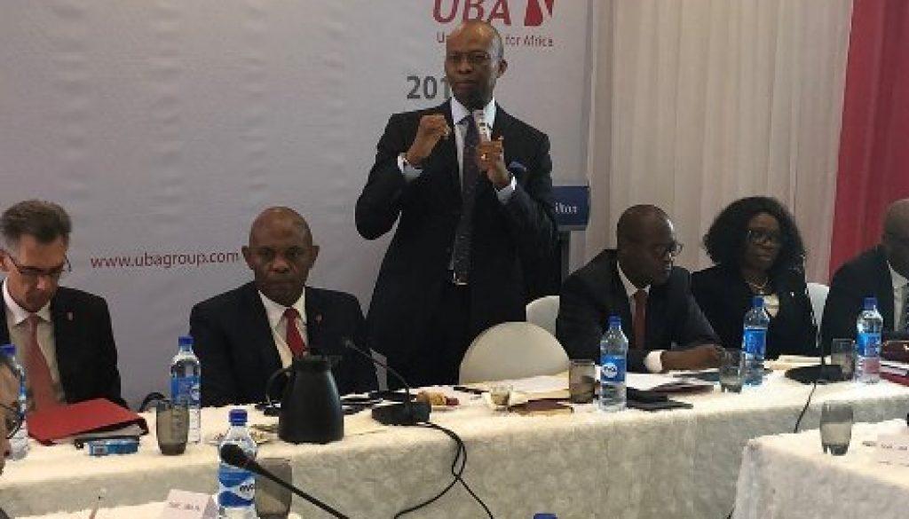 UBA hits gross earning