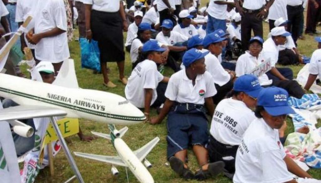 nigerian-airways-staff-protest-its-liquidation