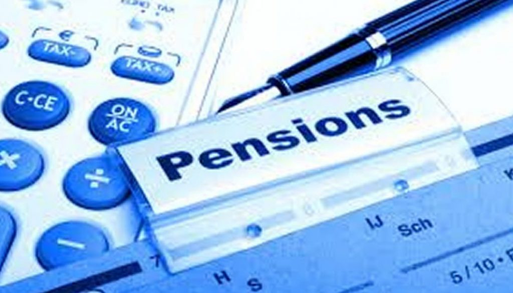 pension corrected