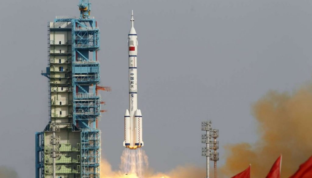 China launches space rocket