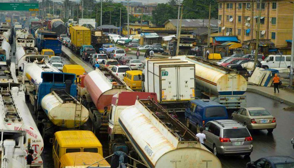 Lagos apapa road