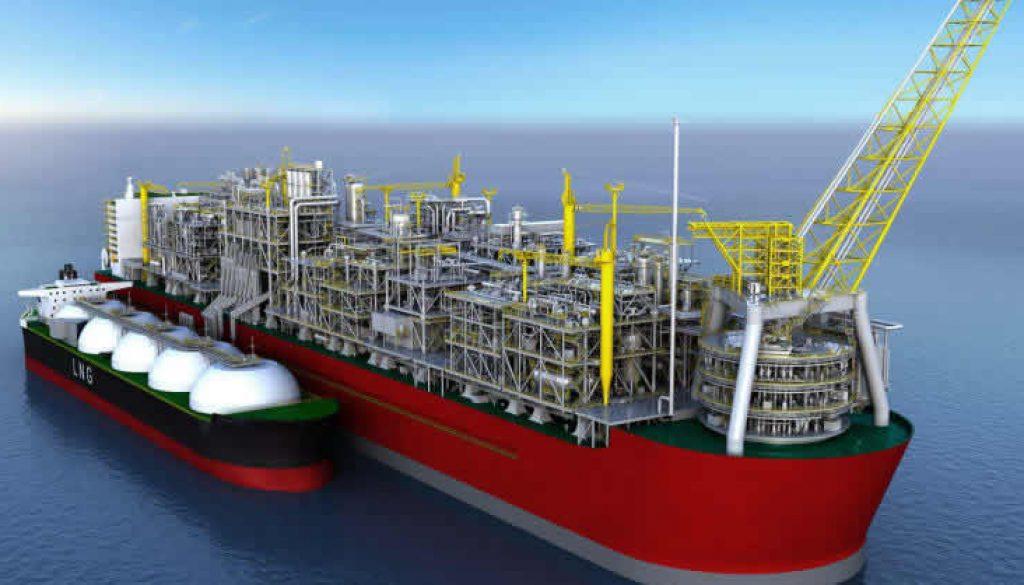Floating-LNG-platform