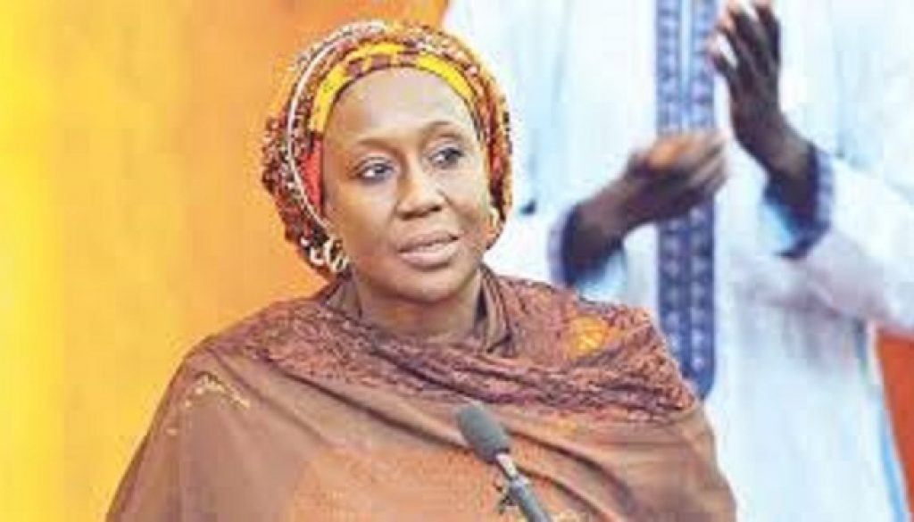 The Minister of State for Industry, Trade and Investment, Hajiya Aisha Abubakar,