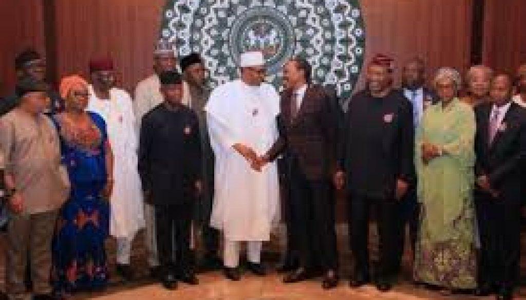 Buhari inaugurates technical committee on minimum wage