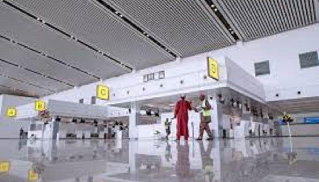 New airport terminal begins