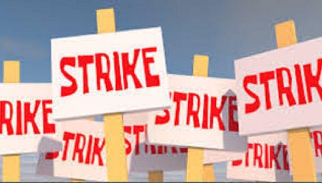 strike in tunsair