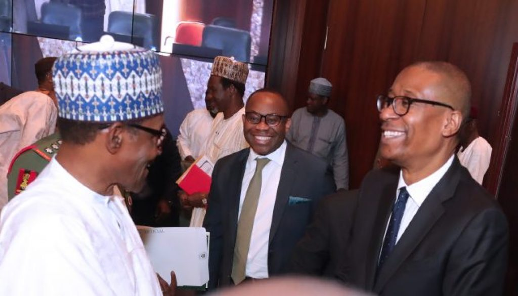 PRESIDENT-BUHARI-PRESIDES-OVER-SIGN-OF-NSECOM-AND-ITS-INESTMENT-PARTNERS-