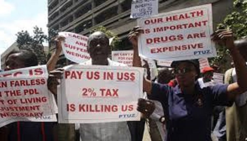 Zimbabwe workers accept 29% pay rise