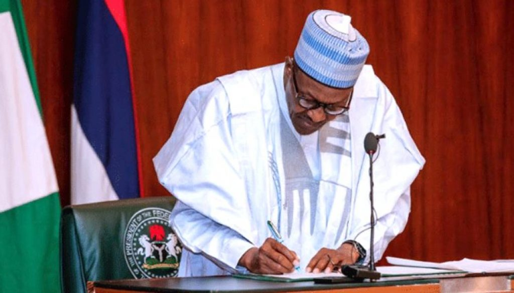 Buhari will pay $98 new monthly wage