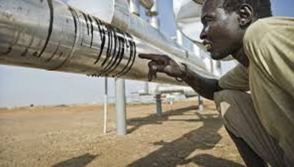 South Sudan in oil with South Africa
