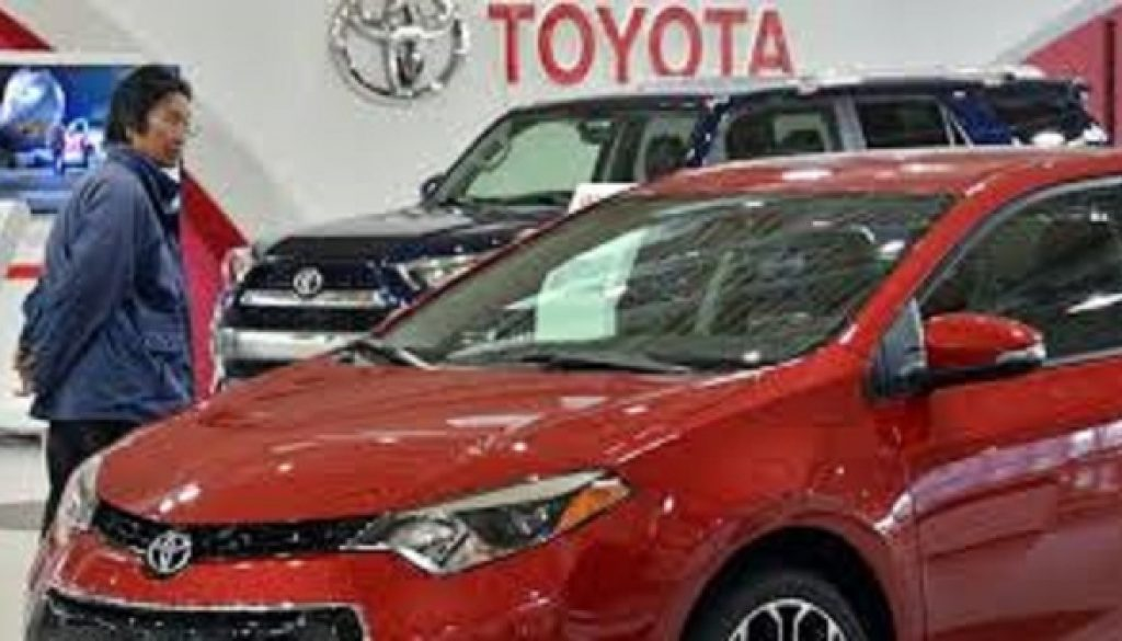 Toyota suffers drop in profit