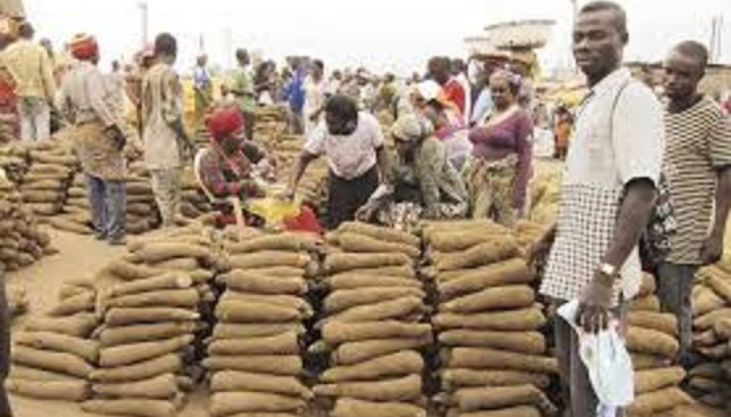 Yam sellers want duty free export