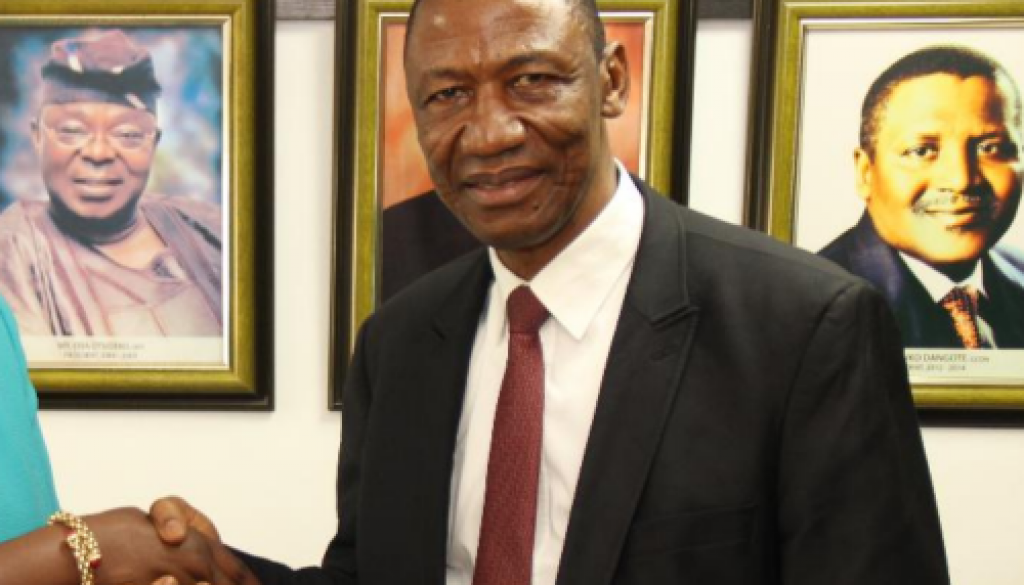 _Chief Executive Officer of Investments and Securities Tribunal (IST) Siaka Isaiah Idoko Akoh
