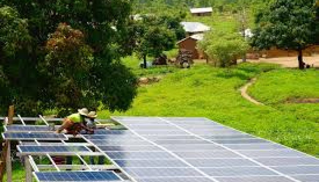 Solar increasing Nigerians' access to electricity