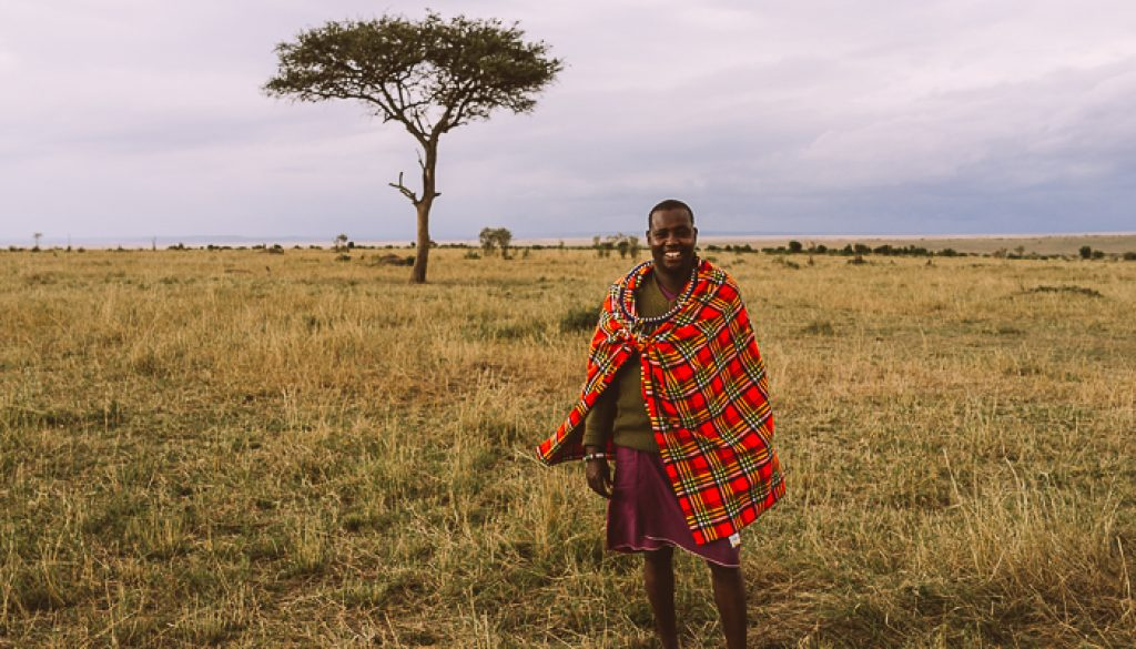 Safari-Guide-at-the-Masai-Mara-Game-Reserve-in-Kenya
