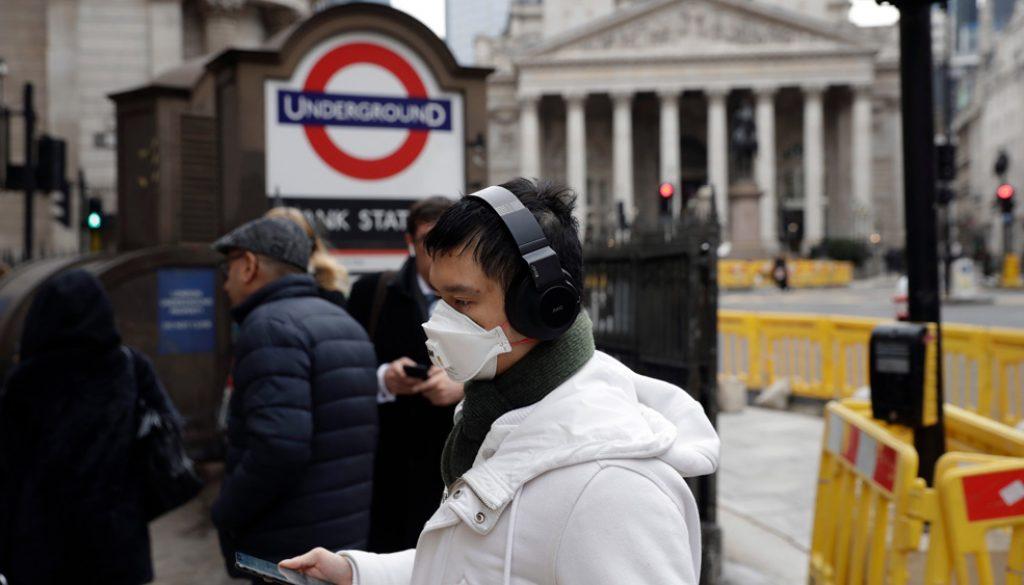 Virus Outbreak, London, United Kingdom - 04 Mar 2020
