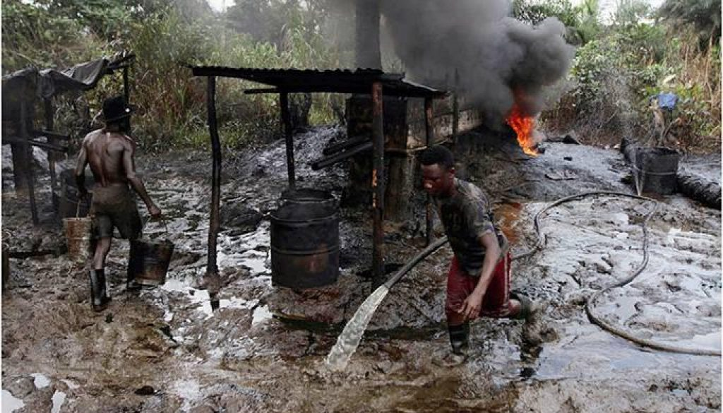 Illegal-refining-activities-in-the-Niger-Delta