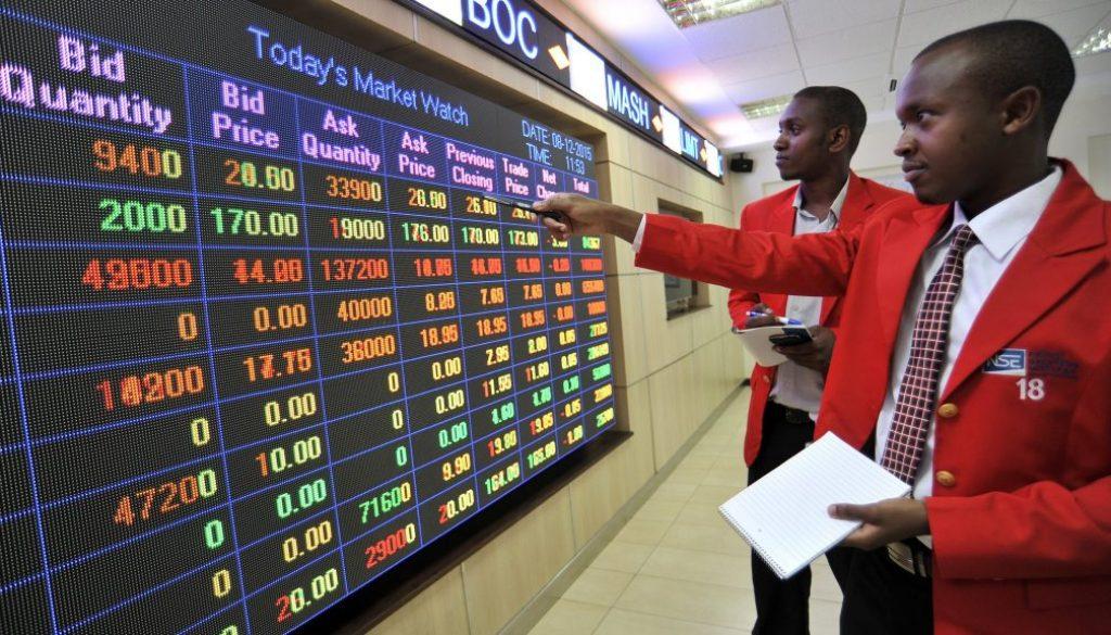 Trading At The Nairobi Securities Exchange